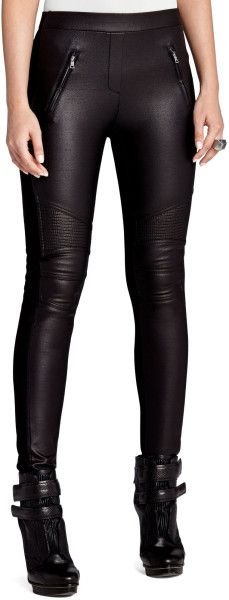 Black Faux Leather Motorcycle Leggings.  Pink Pad - the app for women - pinkp.ad