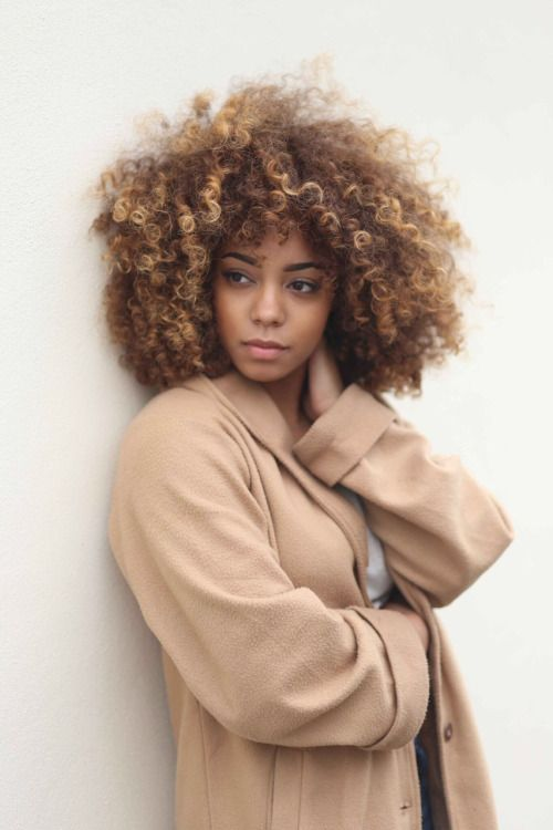 how to style curly afro hair 10 best ideas about colored hair on 3477