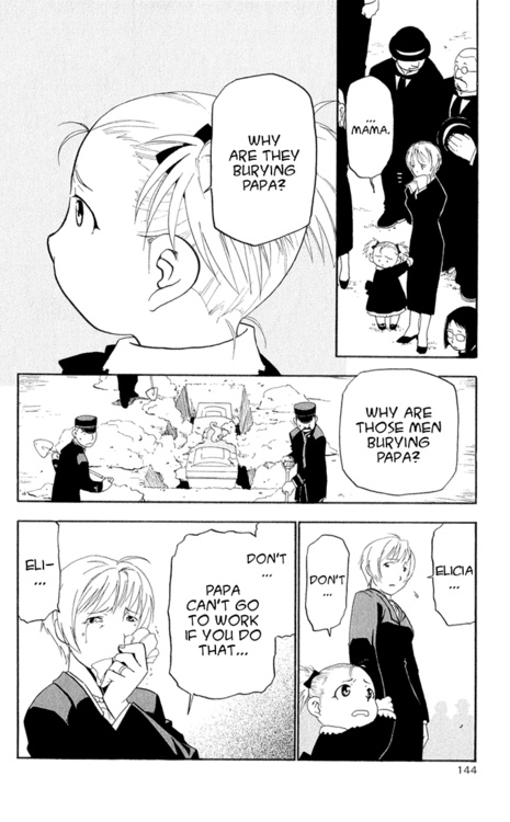 Maes Hughes' Funeral (read right to left) //ouch. my poor heart.