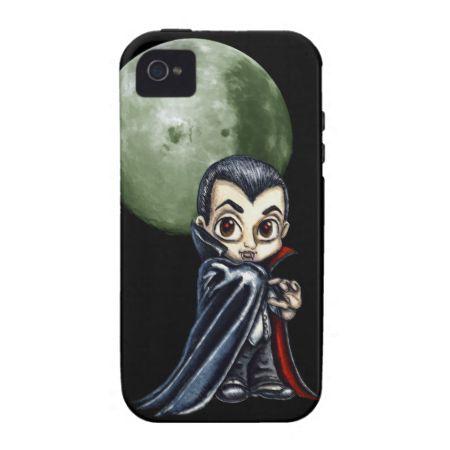 Cute Vampire Vibe iPhone 4 Covers