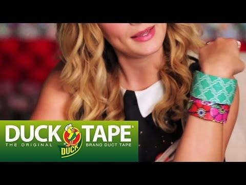 how to make stuff out of duct tape easy