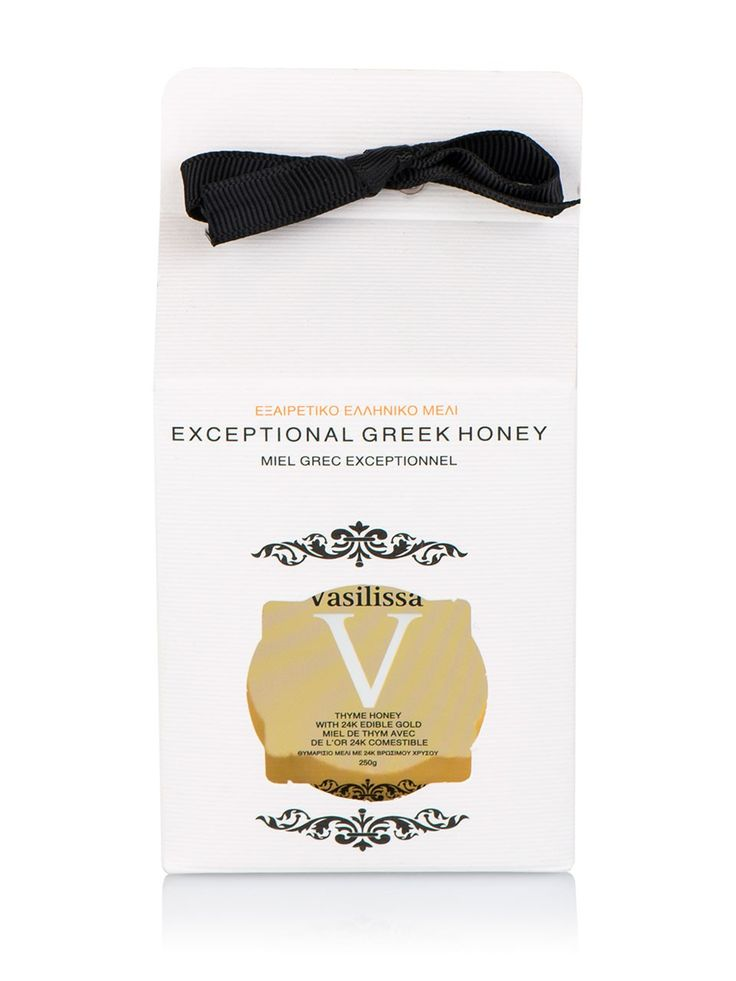 "Honey with 24k gold flakes ""Vasilissa"" 8.8oz"