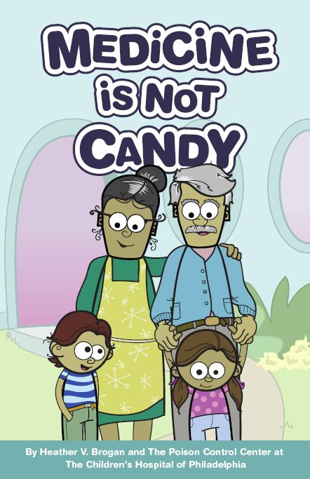 Medicine is NOT CANDY PDF-- Story for Poison Prevention Week (K to 3rd)