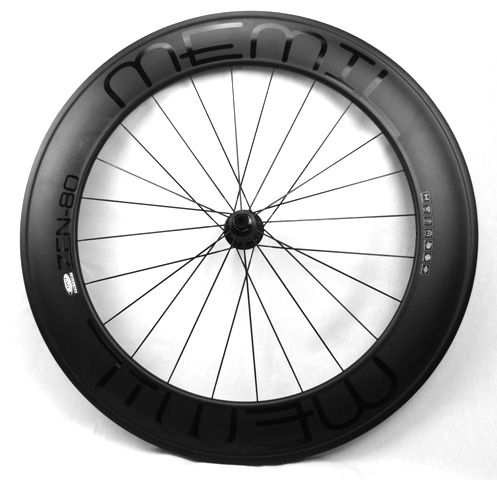 ZEN 80mm Full Carbon Clincher Wheelset