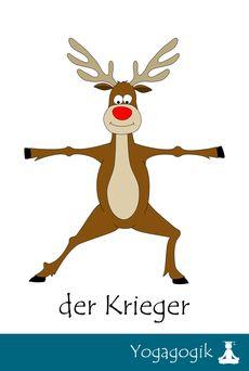Rudolph das Yoga Rentier - Yogagogik: Kinderyoga Ausbildung Berlin