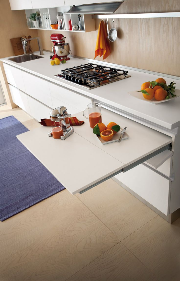 Cucina moderna Gicinque in finitura rovere Aspen  #cucina #cucine #kitchen #kitchens #modern #moderna #gicinque  #cucinaoslo #oslo http://www.gicinque.com/it_IT/products/1/gallery/2/line/65