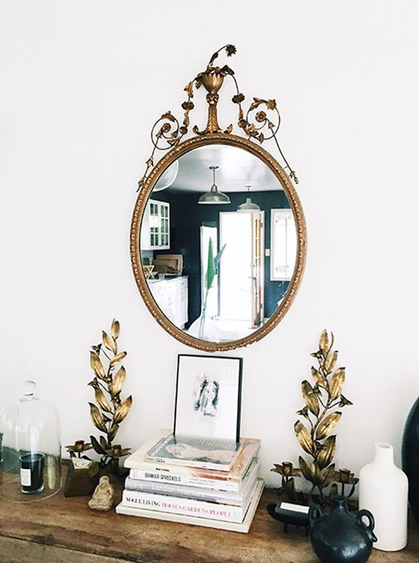 gilded touches by sfgirlbybay | via coco+kelley