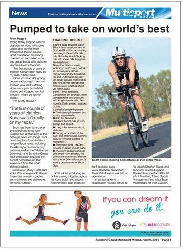 Sunshine Coast Daily - Multisport Mecca Story Page 2
