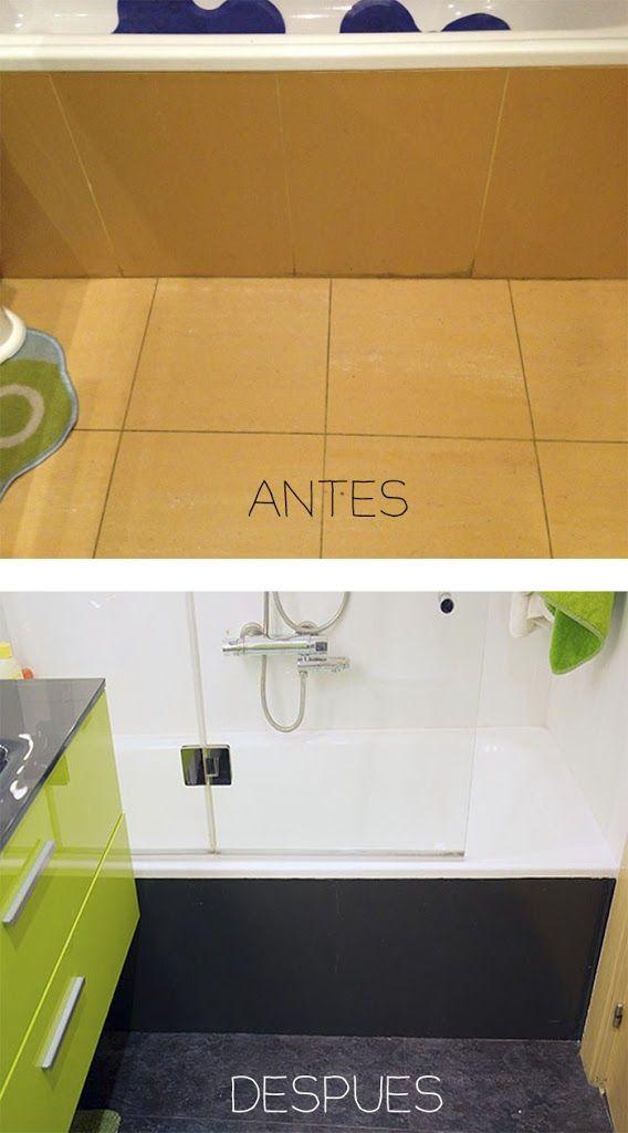 Las 25 mejores ideas sobre pintando azulejos de ba o en - Azulejos para el suelo ...