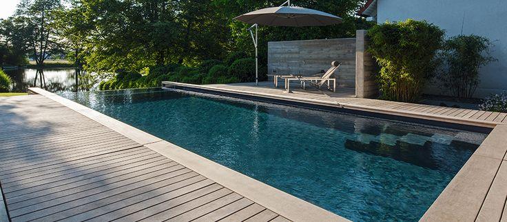 Die besten 25+ Fertigschwimmbecken Ideen auf Pinterest Jacuzzi - schwimmbad im garten