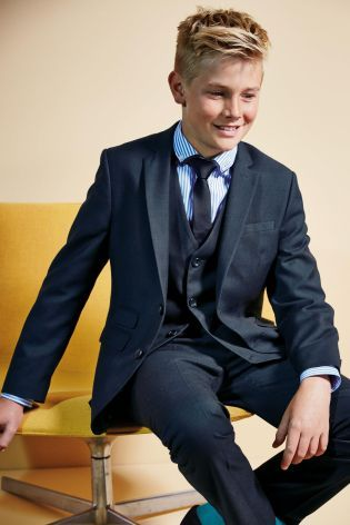 Buy Navy Check Jacket (12mths-16yrs) from the Next UK online shop