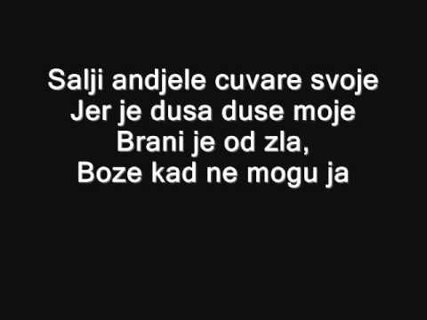 Tose Proeski-Boze,brani je od zla (lyrics,tekst) - YouTube