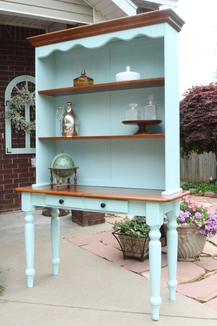 Painted furniture ideas before and after - Display Hutch Before And After