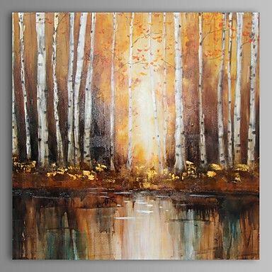 pintura a óleo moderna paisagem abstrata mão canvas, com quadro esticado pintados de 2763019 2016 por R$402,19
