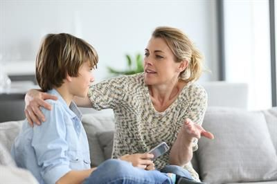 Examples of how to apply peaceful parenting strategies with your school-age child.