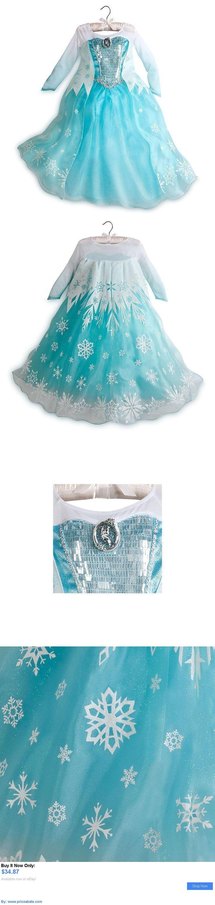 Kids Costumes: Nwt Disney Store Elsa Cameo Dress Costume Gown 7/8 9/10 Frozen Princess BUY IT NOW ONLY: $34.87 #priceabateKidsCostumes OR #priceabate
