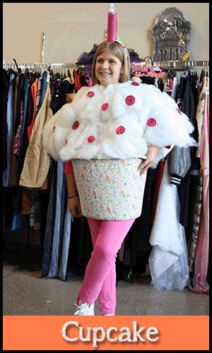 See How To Put Together A Cupcake #costume Using Everyday