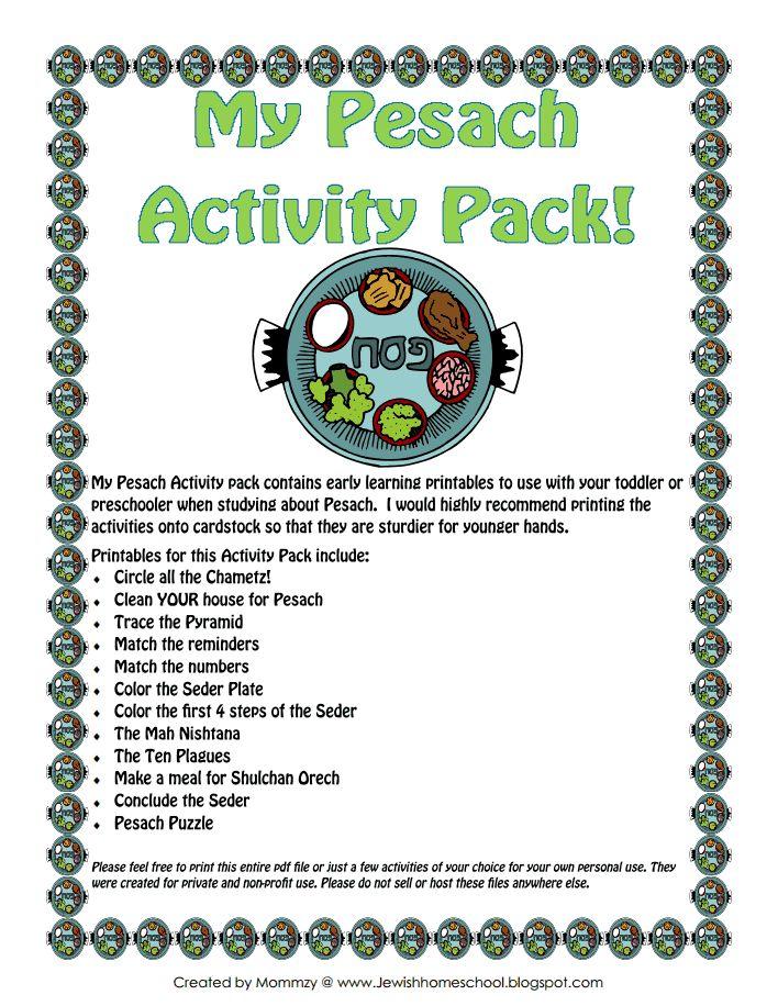 My Pesach Activity Pack.pdf