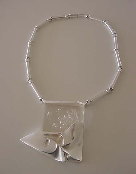 WINTERS DAY Björn Weckström for Lapponia Finland    Sterling Silver + Acrylic