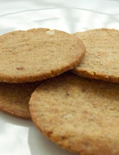 Lchf Gingersnap cookies