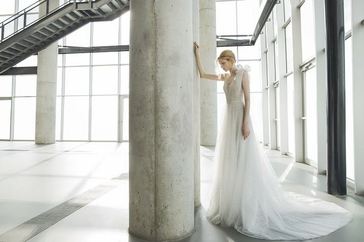 Tonya : Delicate flower pattern tulle - Mira Zwilinger 2016 bridal collection stardust collection | fabmood.com: