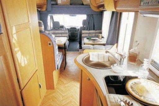 group - h - campervan and  motorhome rental in Spain.