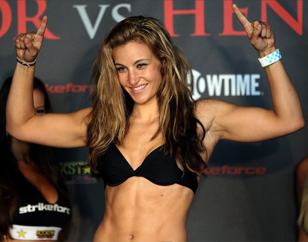 Miesha Tate - Current Strikeforce Women's Bantamweight Champion (2011-12)