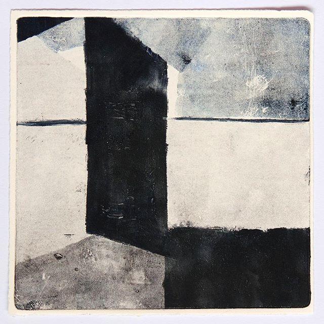 Julia Mota // Monotipia sobre papel // monotype on paper