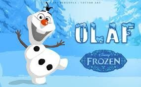 Olaf The Snowman In Frozen Vector Art By Are Lorenz Bergonia Via Behance