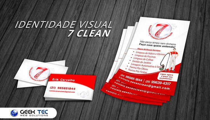 Identidade Visual -  7 Clean