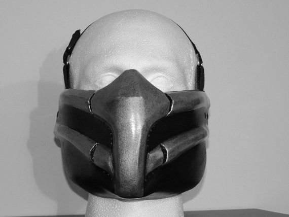 mortal kombat 9 smoke me airsoft cosplay mask by hiddenassassins 5299 - Mortal Kombat Smoke Halloween Costume