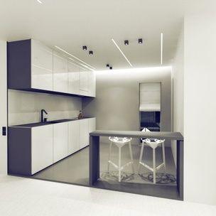 Residential Program • House in Brasov • Romania • Kitchen area render