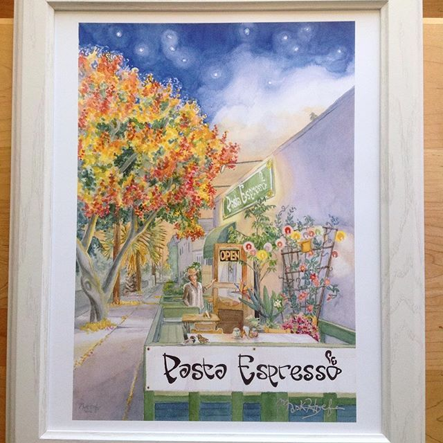 "Pasta Espresso -""OPEN"" I have prints available of this original watercolor. #pastaespresso #pacificbeach #pacificbeachsandiego  #artmarkives #Watercolor #Aquarelle #Aquarela #ακουαρέλα #ջրաներկ #水彩画 #акварель #dlokoulè #수채화 #peitawai #vatnsliti  #ألوانمائية #vízfestmény #màunước #akvarel #水彩 #uiscedhath #watercolors #pacificbeachlocals #sandiegoconnection #sdlocals #sandiegolocals - posted by Mark Hoefer  https://www.instagram.com/markhoefer8. See more post on Pacific Beach at…"