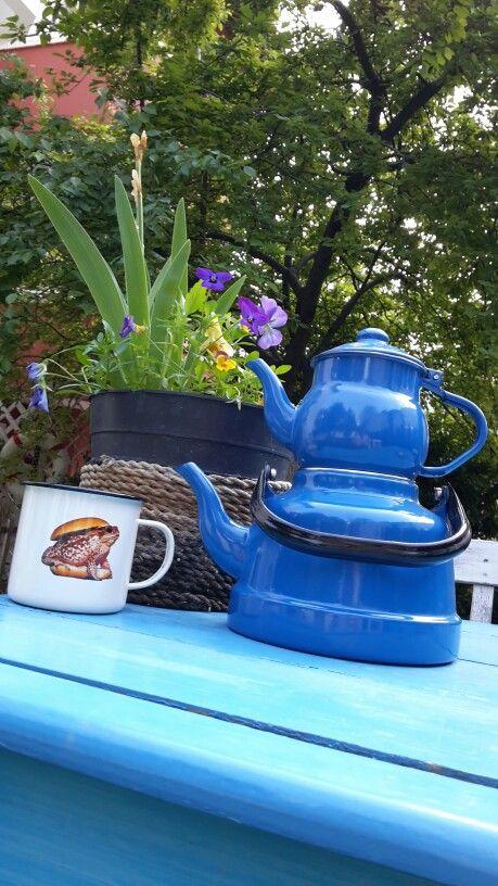 Toilette paper mug&teapot