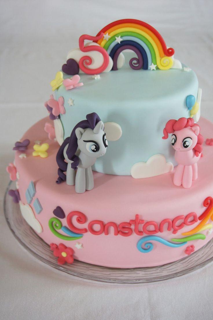 Menina Framboesa: my little pony #unicorncake