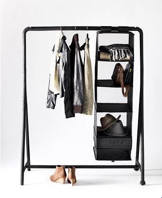 TURBO kledingrek | #IKEA #DagRommel #kledingkast #garderobe #rek
