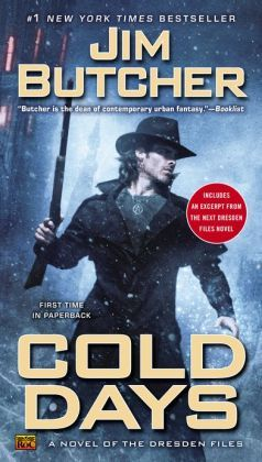Cold Days (Dresden Files Series #14) It took FOREVER to get around to reading the latest Dresden files book. I knew I would want the next one once I finished, but there are still months until that one will come out. This is such a fun and engaging urban fantasy!! Butcher's writing has improved so much from the first books. How he connects details and makes characters grow is simply brilliant!! I never thought I would love long series (more than 6 books), but I cannot turn back now.