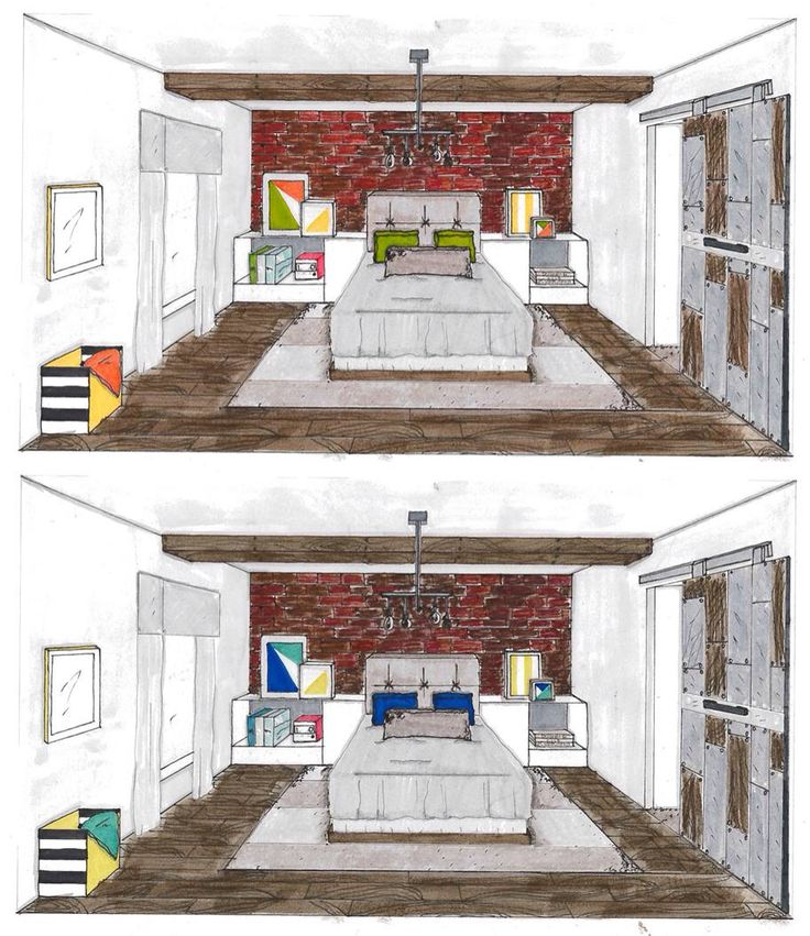 13 best interior perspective ref images on Pinterest | How to draw ...