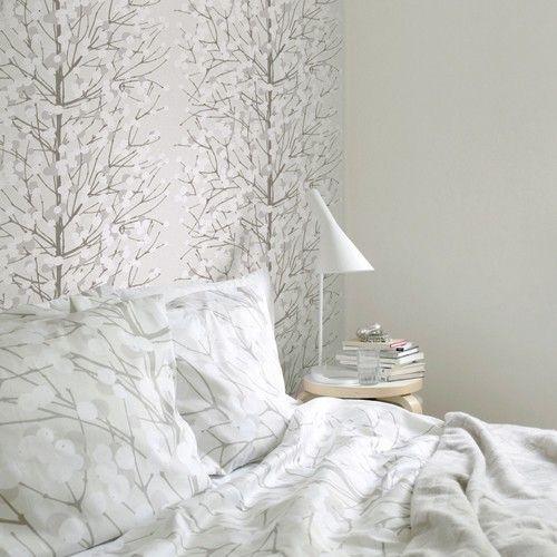 Marimekko Lumimarja Bedding and Wallpaper