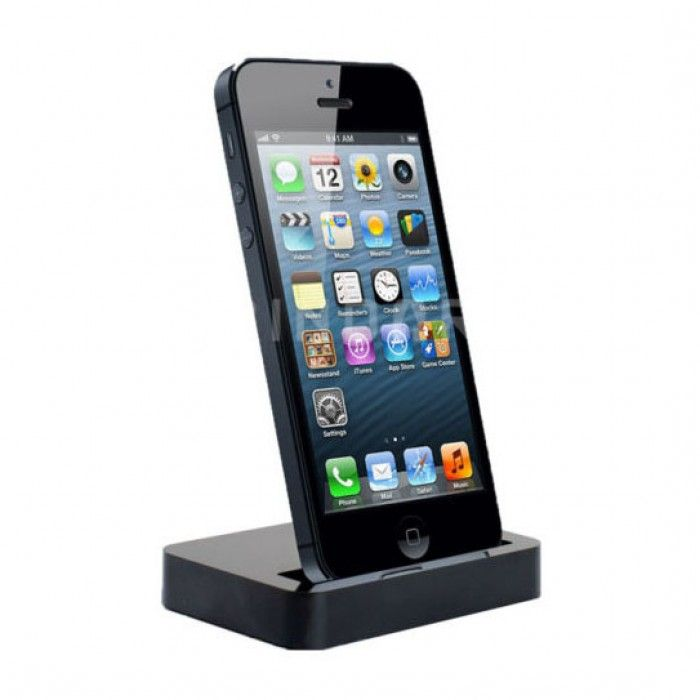 Basis station en houder cradle voor iPhone 5 / 5C / 5S