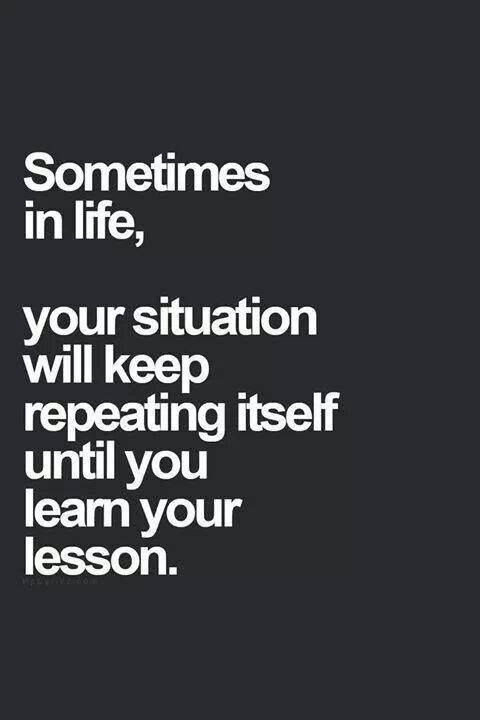 Unless we learn from our mistakes, the past will continue to repeat itself.