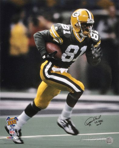 Desmond Howard Green Bay Packers Super Bowl XXXI Autographed