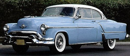 1953 Oldsmobile 98 Holiday Coupe Cars And Automobiles