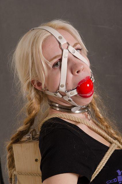 Lipstick ball gag