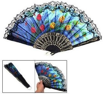 Spanish Tulip Hand-Held Fan – Just $1.52 PLUS FREE Shipping!
