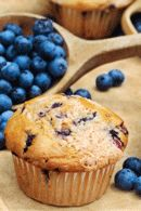 Healthy Muffins Recipes: Low Fat Blueberry Muffins Recipe. #HealthyRecipes #DietRecipes #WeightlossRecipes weightloss.com.au