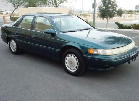 "Mercury Sable LS '95(Our last Sable was a ""94 same color) We owned a light blue ""87 before that."