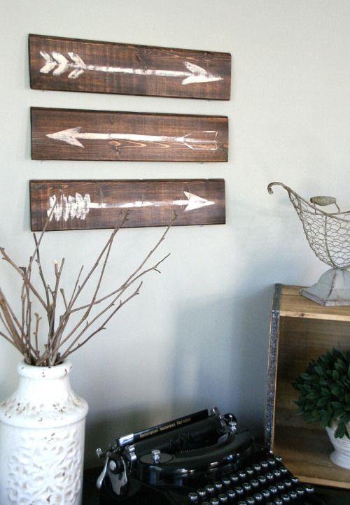 rustic-painted-arrow                                                       …