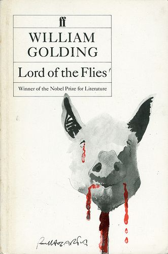 William Golding 'Lord of the Flies' 54' Cover Illustration by Paul Hogarth Design by Pentagram Faber & Faber (1954)