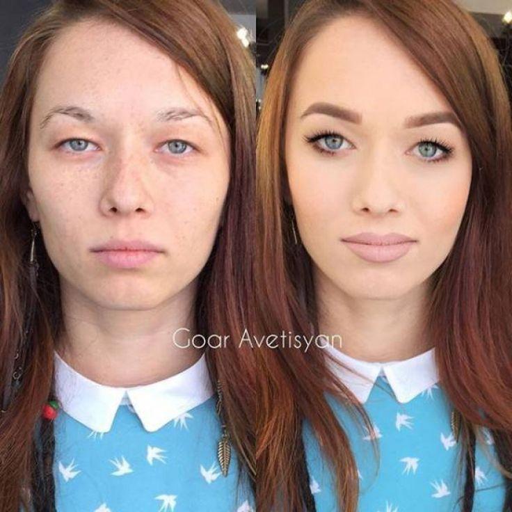 avant et aprs la puissance du maquillage en 21 photos - Color Out Avant Apres